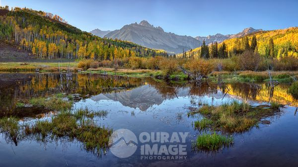 Fall Reflections of Mount Sneffels