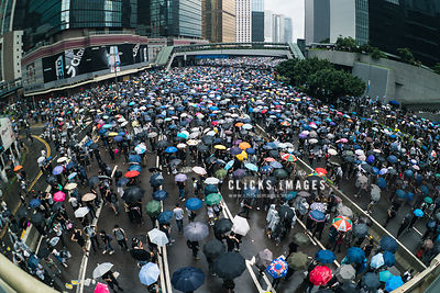 Hong Kong demonstration against extradition bill