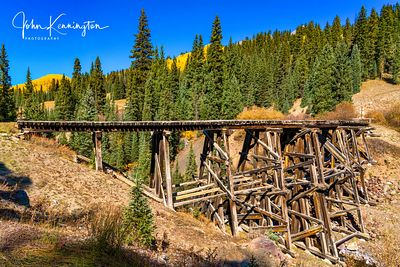 Trout Lake Trestle, Uncompahgre National Forest, Colorado
