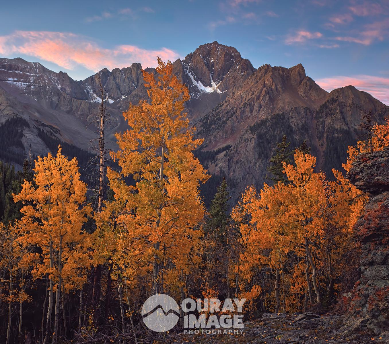 Mount Sneffels at Dawn on a Fall Morning