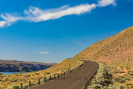 Historic U.S. Route 10 at Frenchman Coulee, Washington