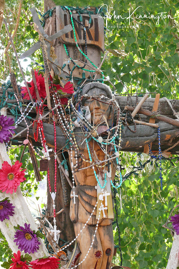 Chimayo Crucifix No. 1, Sanctuario de Chimayo, New Mexico