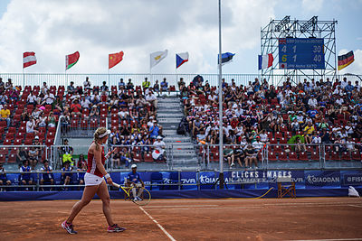Women's Tennis Finals: United Kingdom v Japan - 2019 Summer Universiade