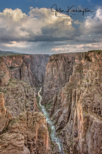 Storm Over Black Canyon, Black Canyon of the Gunnison National Park, Colorado