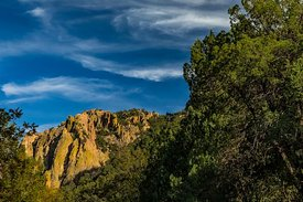 Dramatic Mountain Landscape in the Chiricahua Mountains