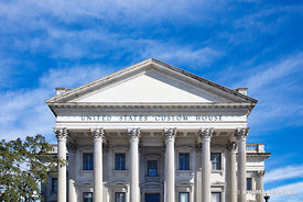 UNITED STATES CUSTOM HOUSE BUILDING CHARLESTON SOUTH CAROLINA