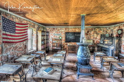 Ready For School, Route 66 Museum, Elk City, Oklahoma