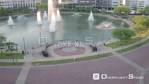 Love NN' Sign with City Center and Fountain Reveal in Newport News, VA