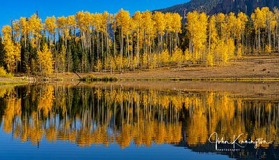 Rowdy Lake Reflection No. 3, Uncompahgre National Forest, Colorado