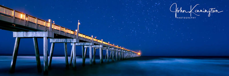 Pensacola Pier by Moonight Panoramic, Florida