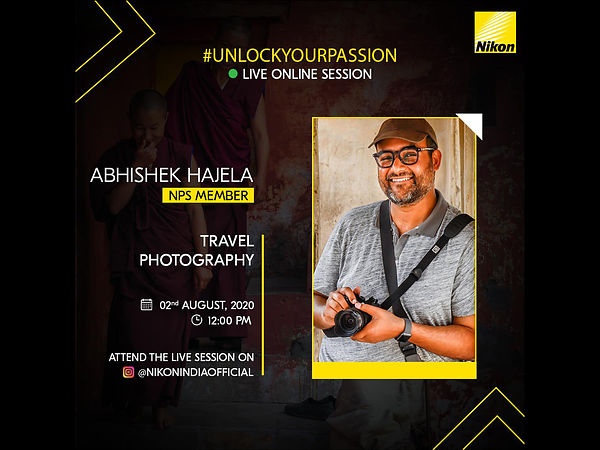 Nikon Live Session on Travel Photography