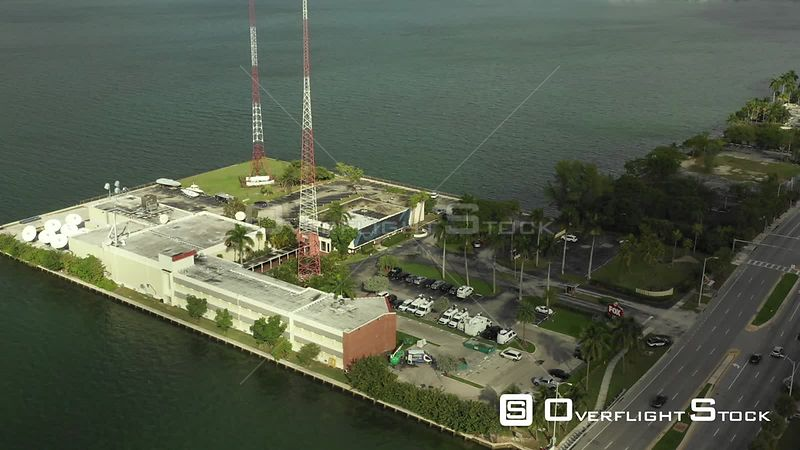 New Broadcasting Station Miami WSVN 7 Florida