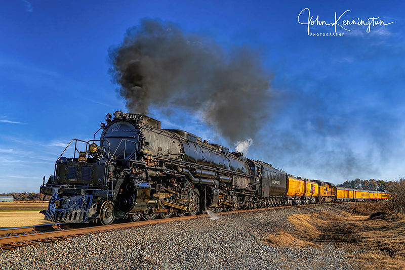 Big Boy Union Pacific #4014 Outside Claremore, Oklahoma