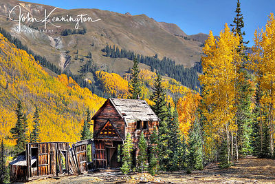 Red Mountain Mine Building, San Juan National Forest, Colorado