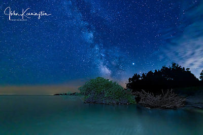 Milky Way Over Lake Michgan No. 2, Door County, Wisconsin