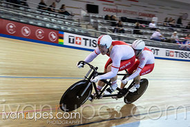 Tandem Team Sprint Gold Medal Final. 2020 UCI Para-Cycling Track World Championships, Day 1 Afternoon Session, January 30, 2020