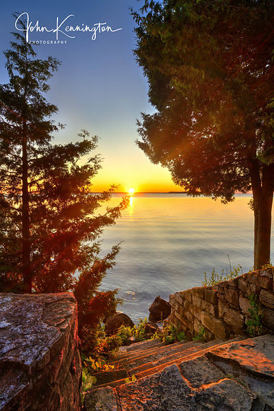 Door County Sunset, Wisconsin