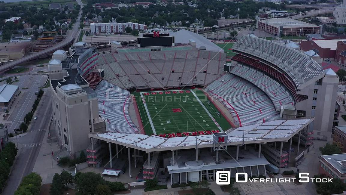 OverflightStock | Memorial Stadium, University of Nebraska ...