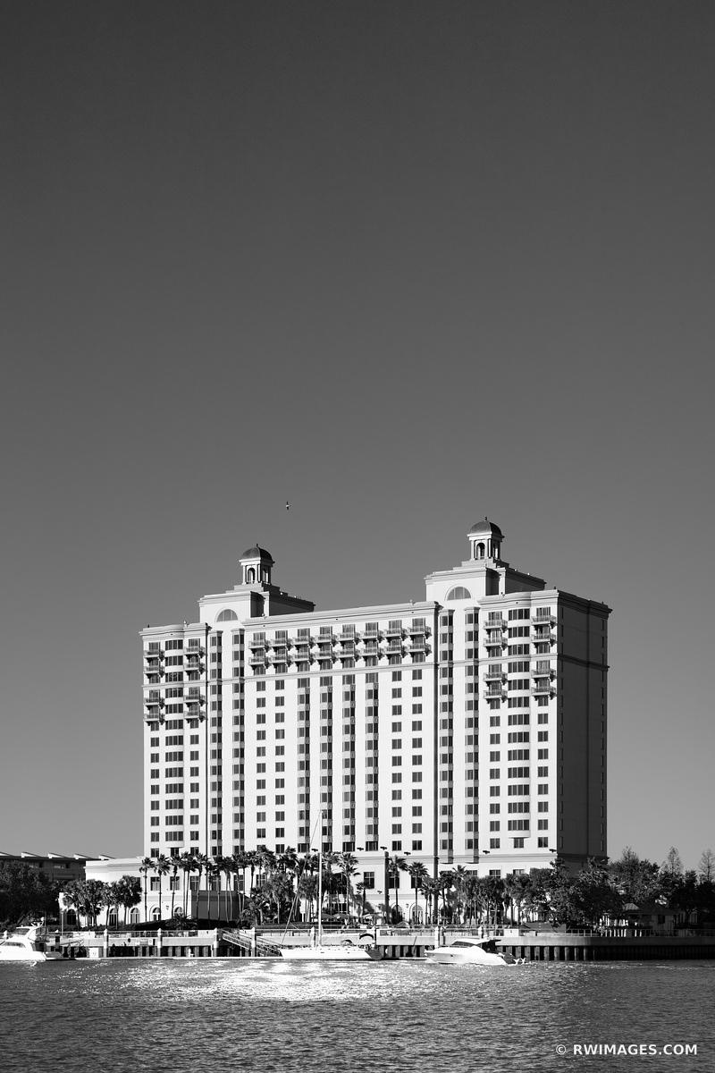 WESTIN SAVANNAH CONVENTION CENTER HOTEL SAVANNAH GEORGIA BLACK AND WHITE