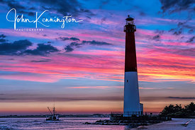 Old Barney at Sunrise, Barnegat Lighthouse, Long Beach Island, New Jersey