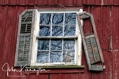 Broken Shutters, Summit, New Jersey