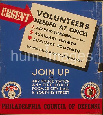 Urgent - volunteers needed at once! Join up at any police station, any firehouse, [or] Room 201 City Hall, 16 South 15th Stre...
