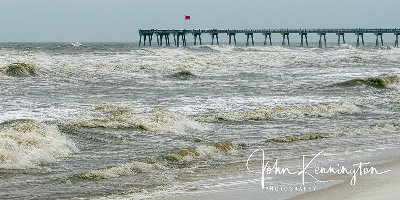 Red Flag Surf Panoramic, Pensacola Beach, Florida