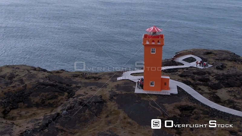 A Lighthouse in West Iceland
