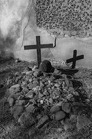 Cross in Cemetery at Tumacacori