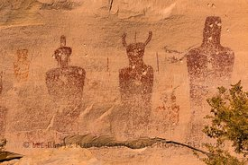 Sego Canyon Rock Art in Utah