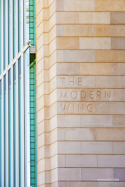 CHICAGO ARCHITECTURE COLLECTION | THE MODERN WING ART INSTITUTE BUILDING CHICAGO ILLINOIS