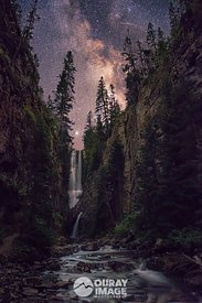 Milky Way Waterfall Canyon