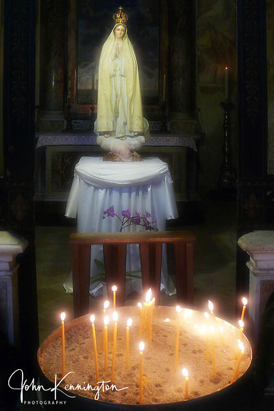 Shrine at Santa Maria in Aracoeli, Rome, Italy