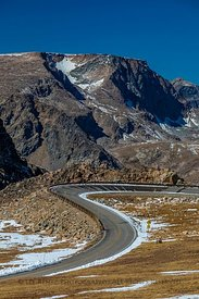 Beartooth Highway Climbing to Beartooth Pass