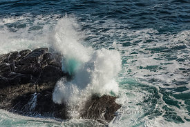 Surf at Cape Spear, Newfoundland