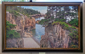 00757_Frame_Example_(Stone_Baech_at_Raven_s_Nest_30x50_Laminated_Print)