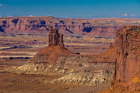 The Candlestick in Canyonlands National Park