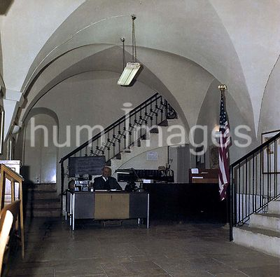 Photographs Related to U.S. Embassies, Consulates, and Other Overseas Buildings - Jerusalem - Annex Office Building, interior...