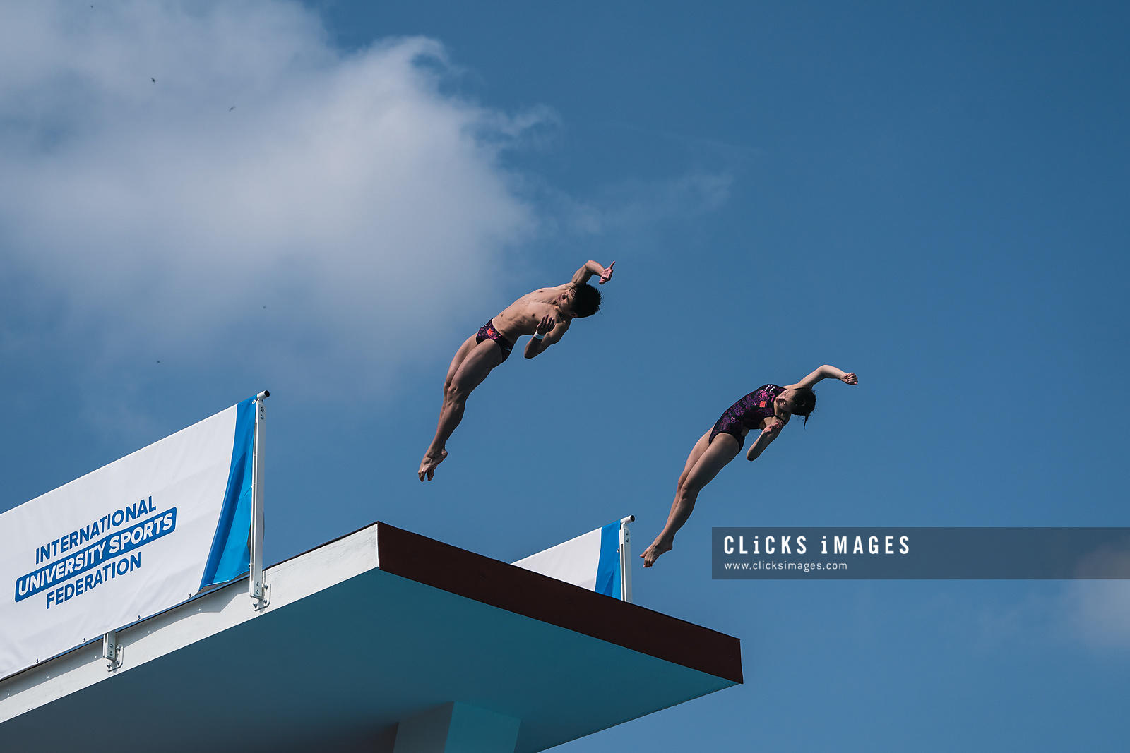 Diving - Mixed 10m Synchro Platform