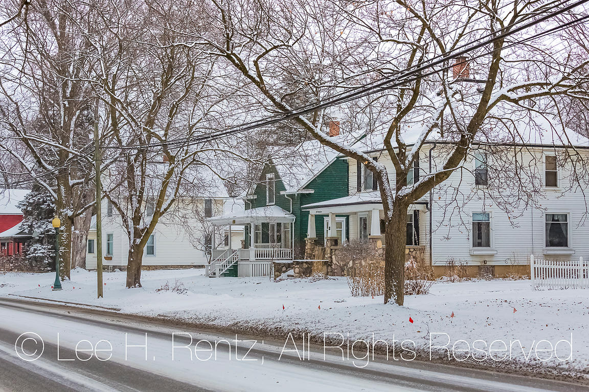 Traditional Homes in Chelsea, Michigan,