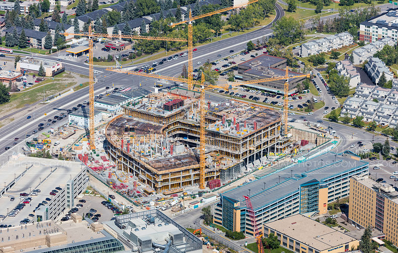 Calgary Cancer Centre Construction