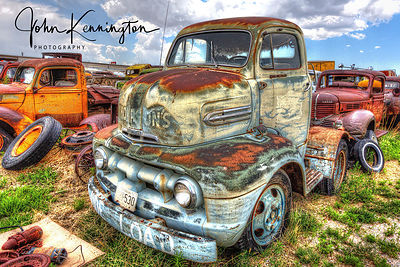 Ford F6, Route 66, Moriarty, New Mexico