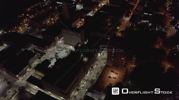 Drone Video Night Lynchburg Virginia