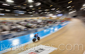Men C1 Pursuit Qualifying. 2020 UCI Para-Cycling Track World Championships, Day 1 Morning Session, January 30, 2020