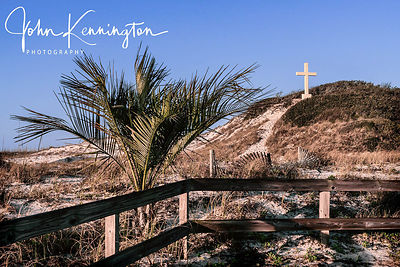 Cross on the Dunes, Pensacola Baech, Florida