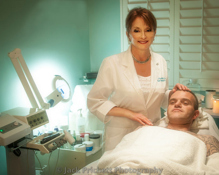 High-end skin treatment center