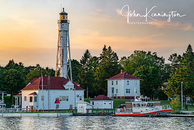 Sturgeon Bay Canal Lighthouse, Door County, Wisconsin