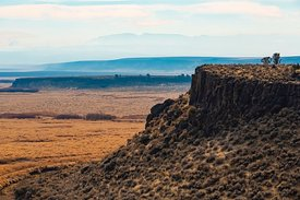 Viewpoint in Malheur Wildlife Refuge