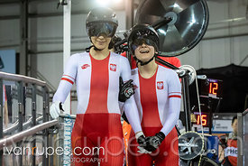 Women Tandem Pursuit Qualifying. 2020 UCI Para-Cycling Track World Championships, Day 2 Morning Session, January 31, 2020