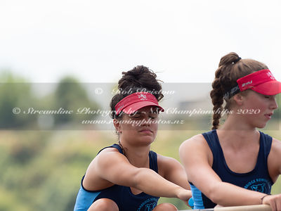 Taken during the NZNI Championships 2020, Lake Karapiro, Cambridge, New Zealand; ©  Rob Bristow; Frame 5975 - Taken on: Frida...